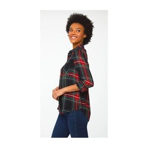 BeachLunchLounge Button Up Flannel